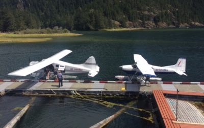 From Shuttle To Float Plane