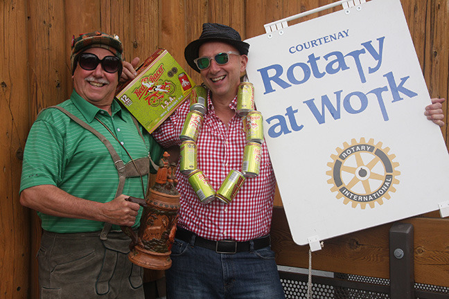 Courtenay Rotary Club hosts first-ever beer fest